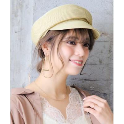 14+(ICHIYON PLUS) / ブレードふっくらキャスケット WOMEN 帽子 > キャスケット