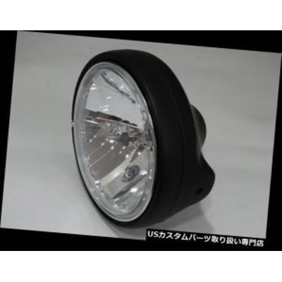 バイク ヘッドライト クリアガラスヘッドライトH4ブラックホンダCB from:NTV 500 650 750ブラックヘッドライト  Clear Glass Headlight