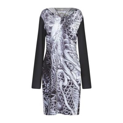 ANIMAPOP ミニワンピース&ドレス ブラック XL ポリエステル 95% / ポリウレタン 5% ミニワンピース&ドレス