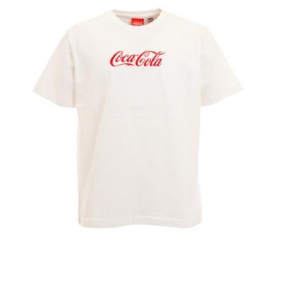 コカコーラ(Coca-Cola)バックボトルプリントTシャツ 0530116-06 OFF 半袖