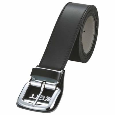 ゼット 野球・ソフトボール用ベルト(ブラック) ZETT つや消しベルト Z-BX93-1900 返品種別A
