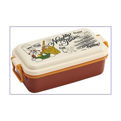 Enamel-Style Lunch Food Container Box 1-Stage Chip & Dale Disney[並行輸入品]