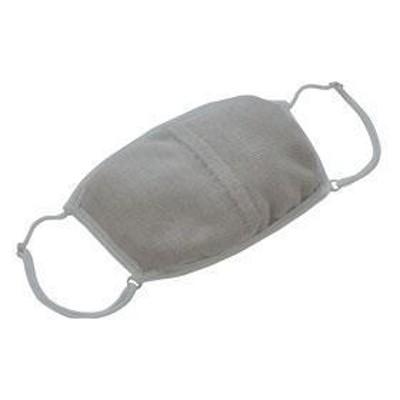 大判潤いシルクのおやすみマスク ムーングレー ロフトオリジナル