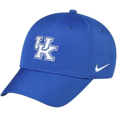 ユニセックス スポーツリーグ アメリカ大学スポーツ Kentucky Wildcats Nike Legacy 91 Logo Performance Adjustable Hat - Royal - OS