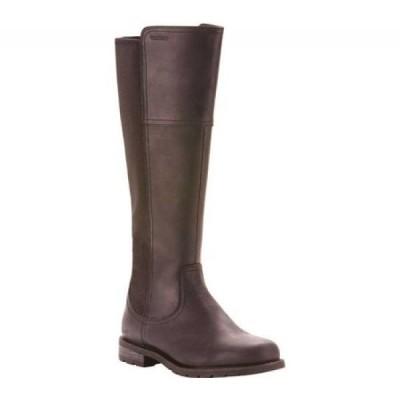 アリアト Ariat レディース ブーツ シューズ・靴 Sutton H2O Waterproof Boot Black Full Grain Leather