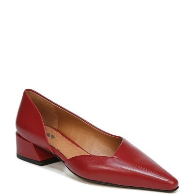 フランコサルト レディース パンプス シューズ Sarto by Franco Sarto Monana Leather d'Orsay Block Heel Pumps Campari