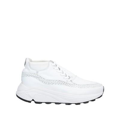 SIDE-P スニーカー&テニスシューズ(ローカット) ホワイト 35 革 / 紡績繊維 スニーカー&テニスシューズ(ローカット)