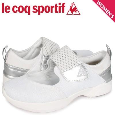 ルコック スポルティフ le coq sportif LA セーヌ スニーカー レディース LA SEINE PF RUN RC ホワイト 白 QL3PJC41WH