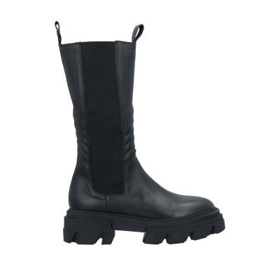 GISÉL MOIRÉ ブーツ ブラック 37 牛革(カーフ) ブーツ
