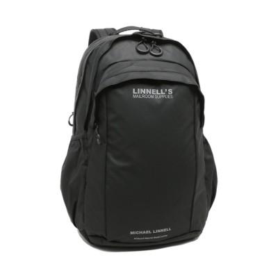 (MICHAEL LINNELL/マイケルリンネル)マイケルリンネル リュックサック ユニセックス 32L MICHAEL LINNELL MLAC-13 ブラック A4対応/レディース その他
