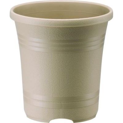 園芸用品・鉢/プランター 大和プラスチック ローズガーデンポット 24型 オーカーベージュ 4903266728083 1セット(5個入)(直送品)