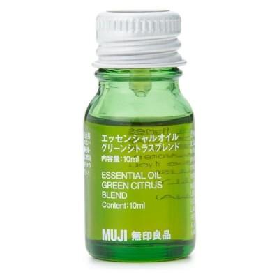 無印良品 エッセンシャルオイル・グリーンシトラスブレンド 10ml 良品計画