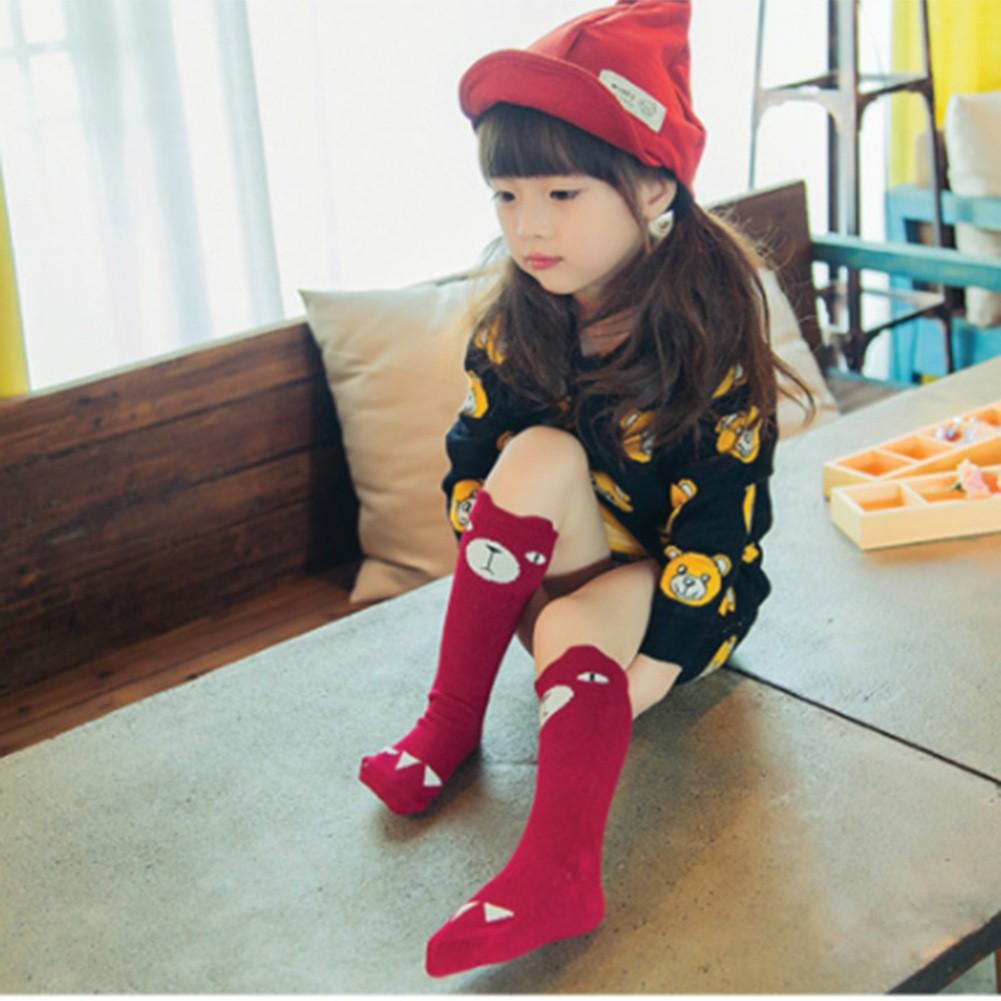 韓版風格 可愛童襪 兒童卡通嬰兒襪子 寶寶襪子 純棉中筒襪【IU貝嬰屋】