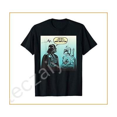 Star Wars Funny Darth Vader and Boba Fett Comic T-Shirt並行輸入品