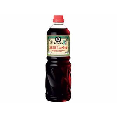 キッコーマン/減塩しょうゆ 1L