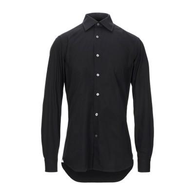 MASTAI FERRETTI シャツ ブラック 40 コットン 97% / ポリウレタン 3% シャツ