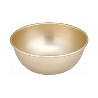 ボウル 料理道具 / ゴールド アルマイトボール 28cm 寸法: 外径:293 x 深さ:112mm 容量:5L