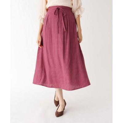 WORLD ONLINE STORE SELECT / ジャカードロングスカート WOMEN スカート > スカート