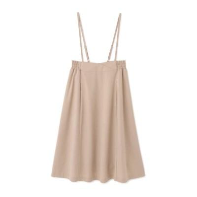 バックリボンシャーリングジャンパースカート