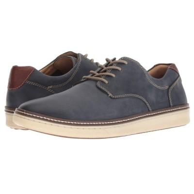 ジョンストン&マーフィー Johnston & Murphy メンズ スニーカー シューズ・靴 McGuffey Casual Plain Toe Sneaker Navy Nubuck