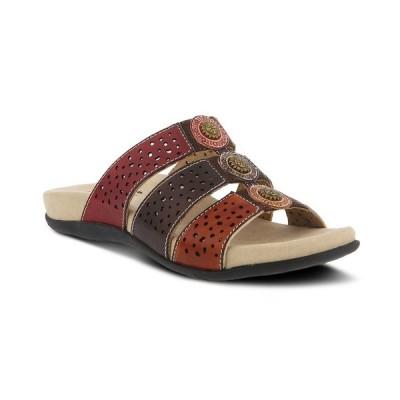ラリティステ サンダル シューズ レディース Women's Glennie Slide Sandals Red Multi