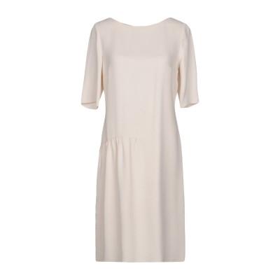 ROSSO35 ミニワンピース&ドレス アイボリー 46 78% レーヨン 18% アセテート 4% ポリウレタン ミニワンピース&ドレス