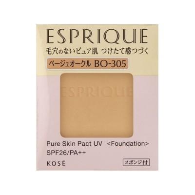 【アットコスメショッピング/@cosme SHOPPING】 エスプリーク ピュアスキン パクト UV BO-305 ベージュオークル (9.3g)