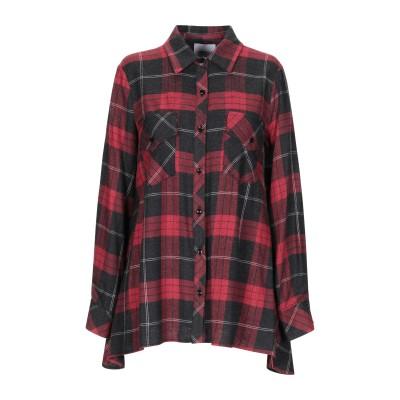 ANNARITA N TWENTY 4H シャツ レッド 42 レーヨン 80% / アクリル 20% シャツ
