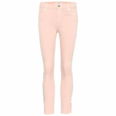 ジェイ ブランド J Brand レディース ジーンズ・デニム ボトムス・パンツ Alana cropped high-rise skinny jeans dist lulled