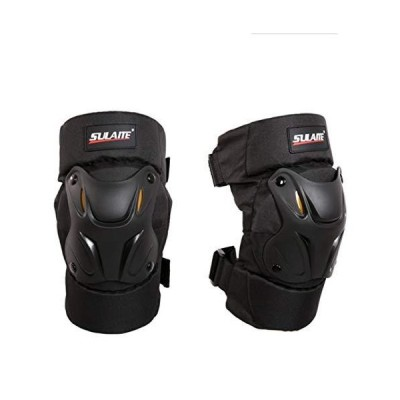 SULAITE Professional Adult Knee Pads Protective Gear for Skateboarding Inline Roller Skating Motorbike Bike Cycling Scooter送料無料