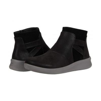 Clarks クラークス レディース 女性用 シューズ 靴 ブーツ アンクル ショートブーツ Sillian 2.0 Hi - Black Synthetic