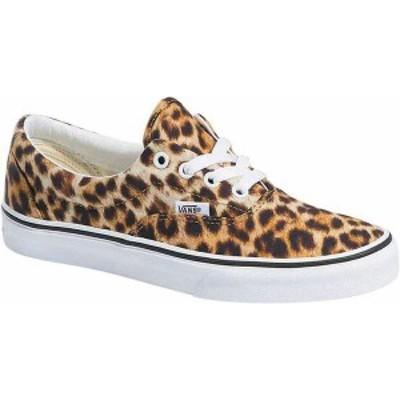 バンズ レディース スニーカー シューズ Era Leopard Canvas Sneaker Black/True White/Leopard