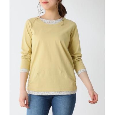 Honeys / みせかけTシャツ WOMEN トップス > Tシャツ/カットソー