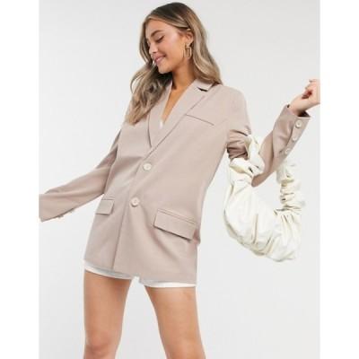 ファッションモンキー レディース ジャケット・ブルゾン アウター Fashion Union blazer two-piece