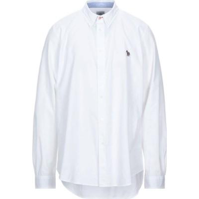 ポールスミス PS PAUL SMITH メンズ シャツ トップス tailored bd shirt solid color shirt White