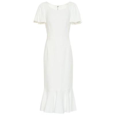 ドルチェ&ガッバーナ Dolce & Gabbana レディース ワンピース ワンピース・ドレス Crepe dress Natural White