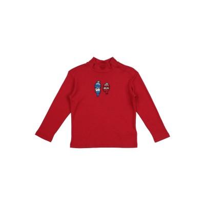 ドルチェ & ガッバーナ DOLCE & GABBANA T シャツ レッド 3 レーヨン 50% / コットン 50% / ウール / アクリル