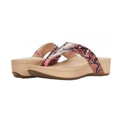 VIONIC バイオニック レディース 女性用 シューズ 靴 サンダル Naples - Pink Snake