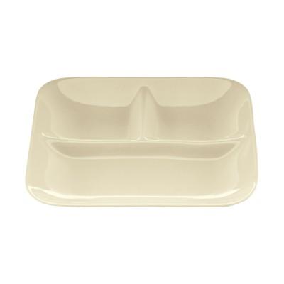 洗い物が減る仕切り付きランチプレート2枚セット【ワンプレート皿】