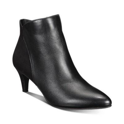 アルファニ ブーツ&レインブーツ シューズ レディース Women's Harpper Kitten-Heel Booties,  Black