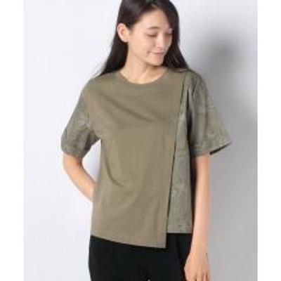 COMME CA ISM(コムサイズム)コットンリネン Tシャツ