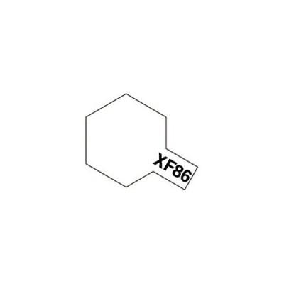 タミヤ タミヤカラー アクリルミニXF86フラットクリヤー (つや消し)