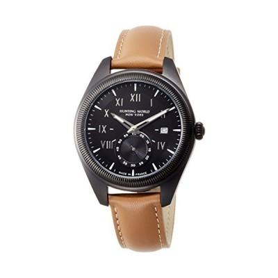 [ハンティングワールド] 腕時計 HWM002BKBR メンズ 正規輸入品 ブラウン