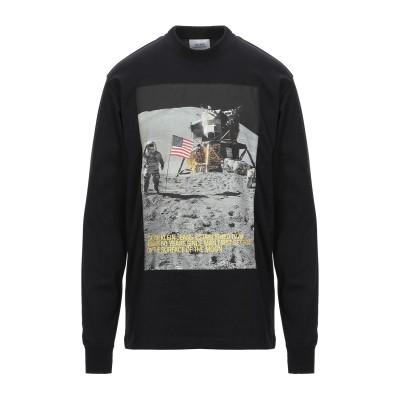 YOOX - CALVIN KLEIN JEANS T シャツ ブラック XS コットン 50% / ポリエステル 50% T シャツ