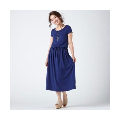 小さいサイズ カットソーマキシワンピース 【小さいサイズ・小柄・プチ】ワンピース, Dress