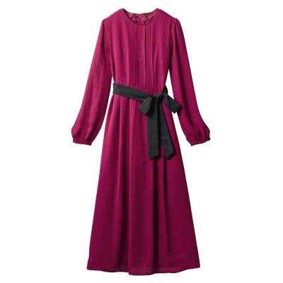 【大きいサイズ】 ロング丈ワンピース(オトナスマイル) ワンピース, plus size dress