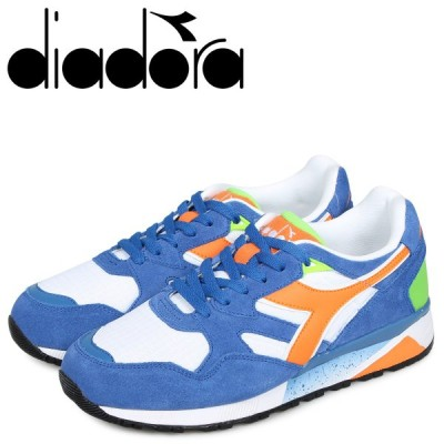 Diadora ディアドラ ニュートラ 9002 スニーカー メンズ N9002 ブルー 173073-8294