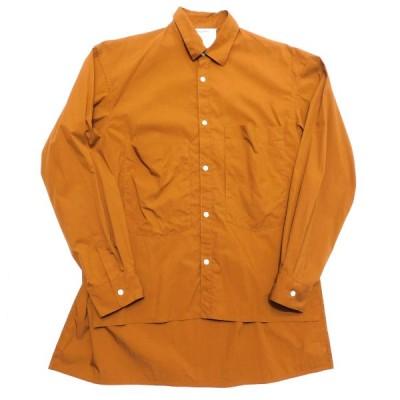 DIGAWEL ワイドシルエットシャツ ブラウン サイズ:1 (池袋店) 200323