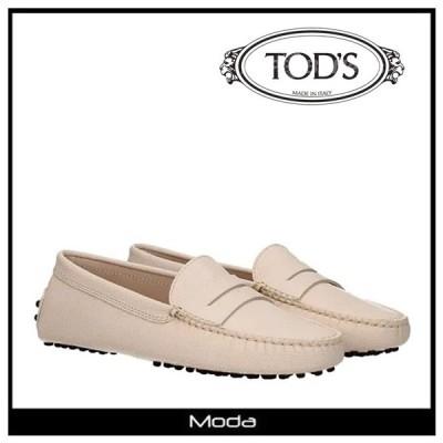 トッズ ローファー レディース TOD'S 靴 フロントロゴ フラット