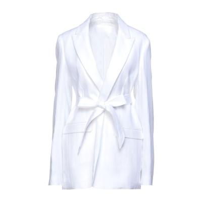 イレブンティ ELEVENTY テーラードジャケット ホワイト 38 リネン 100% テーラードジャケット